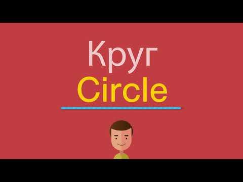 Как переводится circle