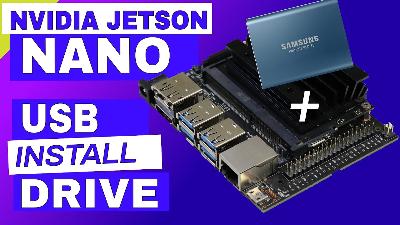 Jetson Nano - Run on USB Drive - JetsonHacks