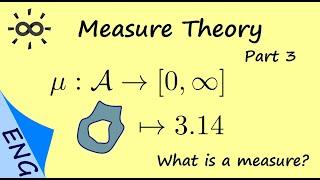 Measure Theory - Pąrt 3 - What is a measure?