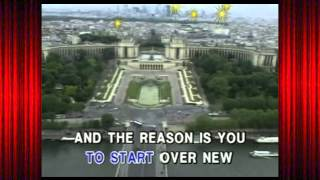 The Reason - Hoobastank (Karaoke-Videoke♪)