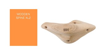 Video: WOODEN SPINE XL2 -  A X-large screw-on wooden pinch, manufactured with the best beech wood.