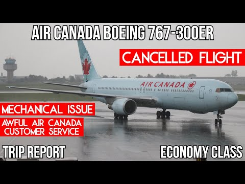 [Trip Report] MY AIR CANADA 767 FLIGHT TO NOWHERE Ottawa (YOW) - Toronto (YYZ)