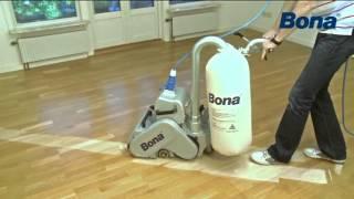 Broušení podlah Bona