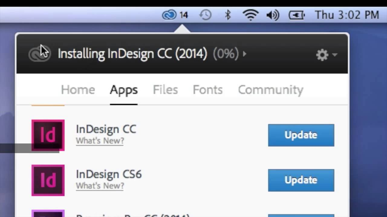 Indesign Cc 2014 How To Update Step By Step