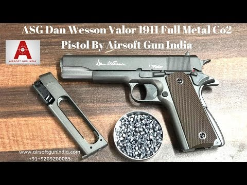 ASG Dan Wesson Valor 1911 Full Metal Co2 Pistol By Airsoft Gun India