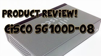 Product Review! - Cisco Small Business SG 100D-08 Unmanaged Switch