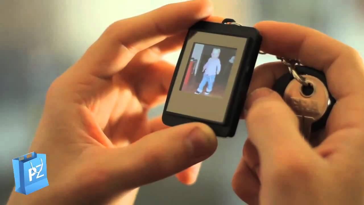 Digital Photo Frame Keyring - YouTube