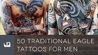50 Traditional Eagle Tattoos For Men