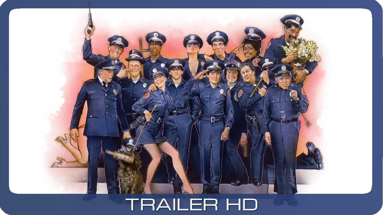 Police Academy ≣ 1984 ≣ Trailer ≣ German | Deutsch