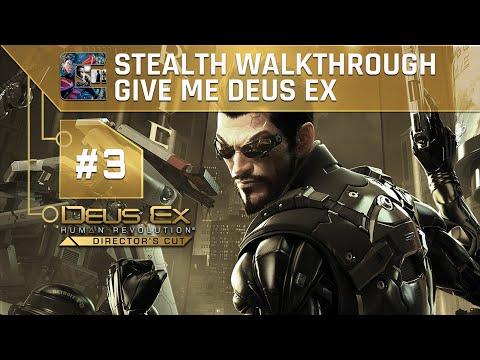 Deus Ex: Human Revolution (DC) Ghost Walkthrough (Give Me Deus Ex) Part 3 - Detroit #1