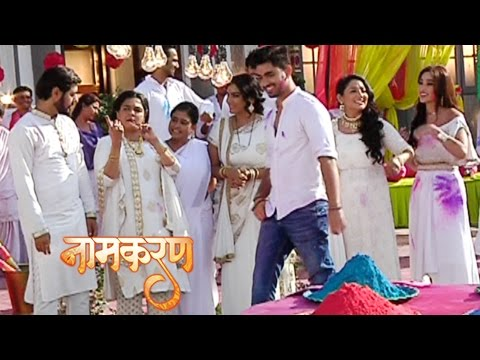 Neil And Dayawanti CRAZY Dance In Holi | Naamkaran | नामकरण | TellyMasala thumbnail