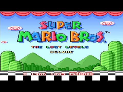 Super Mario Bros The Lost Levels Deluxe Smw Hack Longplay Youtube