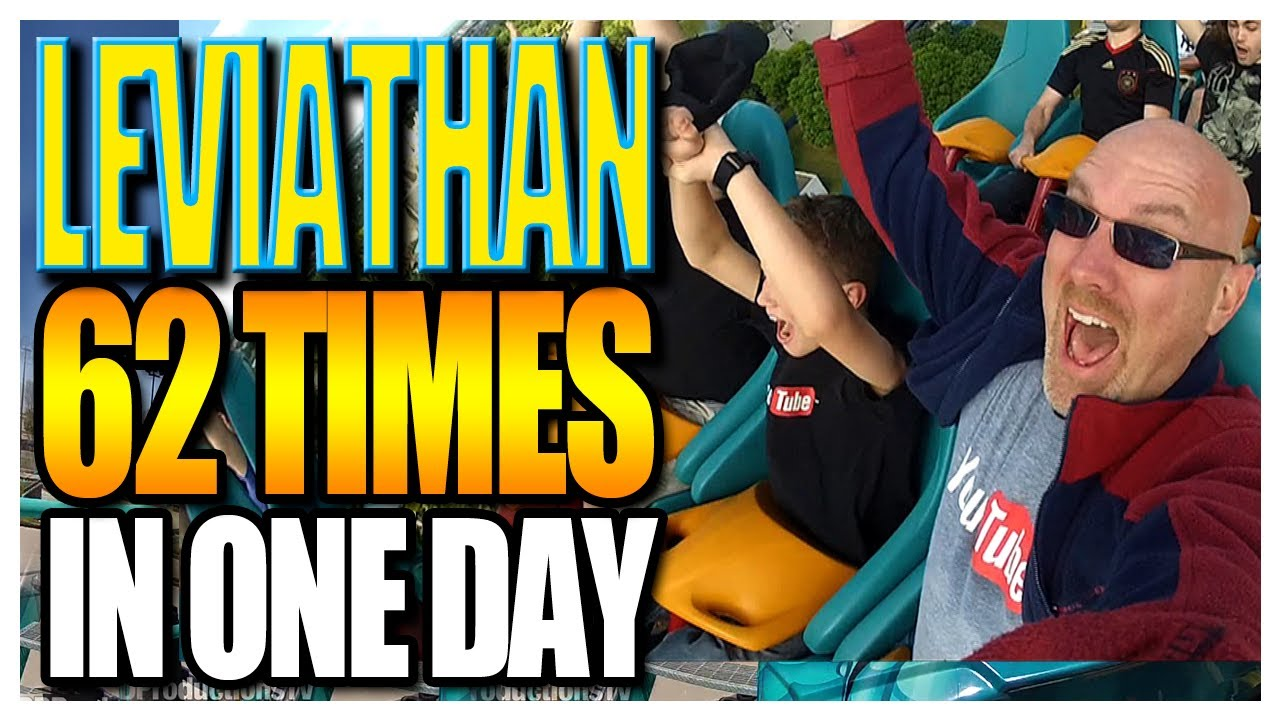 Leviathan – 62 Rides in One Day at Canada's Wonderland