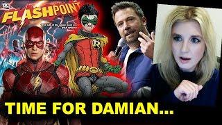 DCEU Flashpoint - Reboot? Damian Wayne for The Batman Movie