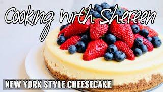 Creamy Cheesecake Recipe - NO CRACKS. FOOLPROOF