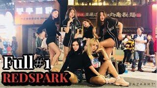 [K-POP in Public] [Full#1] 180923 Red Spark (레드스파크) cover dance 홍대 HD