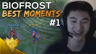 TSM Biofrost Best Stream Moments #1 - THROWING AT THE NEXUS! - Funny LoL Moments