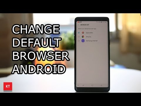 How To Change The Default Browser On Android