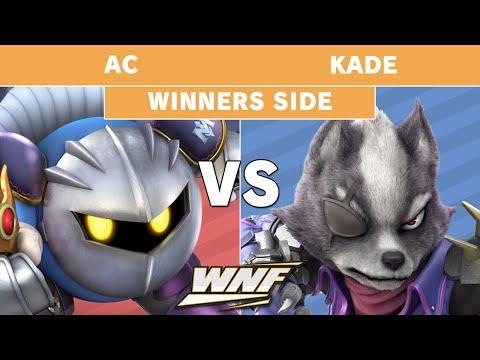 WNF 2.3 - AC (MetaKnight) Vs. SN | Kade (Wolf) Winners Pools - Smash Ultimate