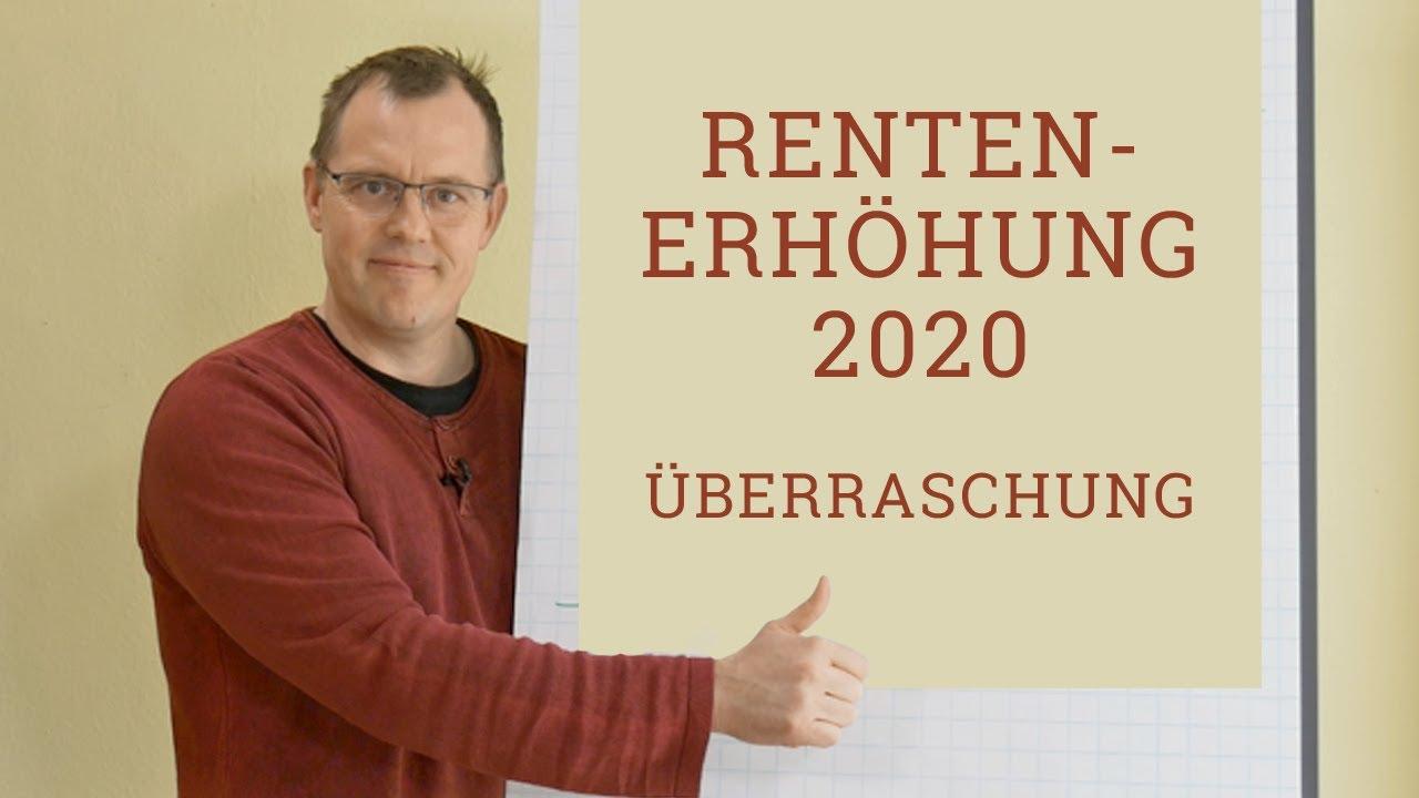 rentenerhöhung für 2020