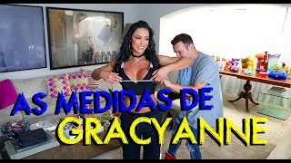 AS MEDIDAS DE GRACYANNE BARBOSA | #HottelMazzafera