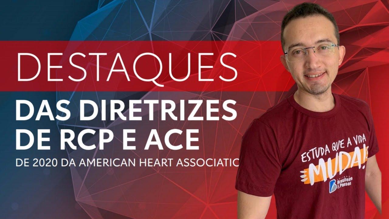 Atualizações de RCP e ACE (AHA, 2020) | Prof. Jonh Morais