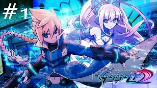 Azure Striker Gunvolt 2 (1080p/60fps) - Playthrough Part 1