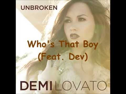 Who's That Boy (Feat. Dev) (Speed Up)