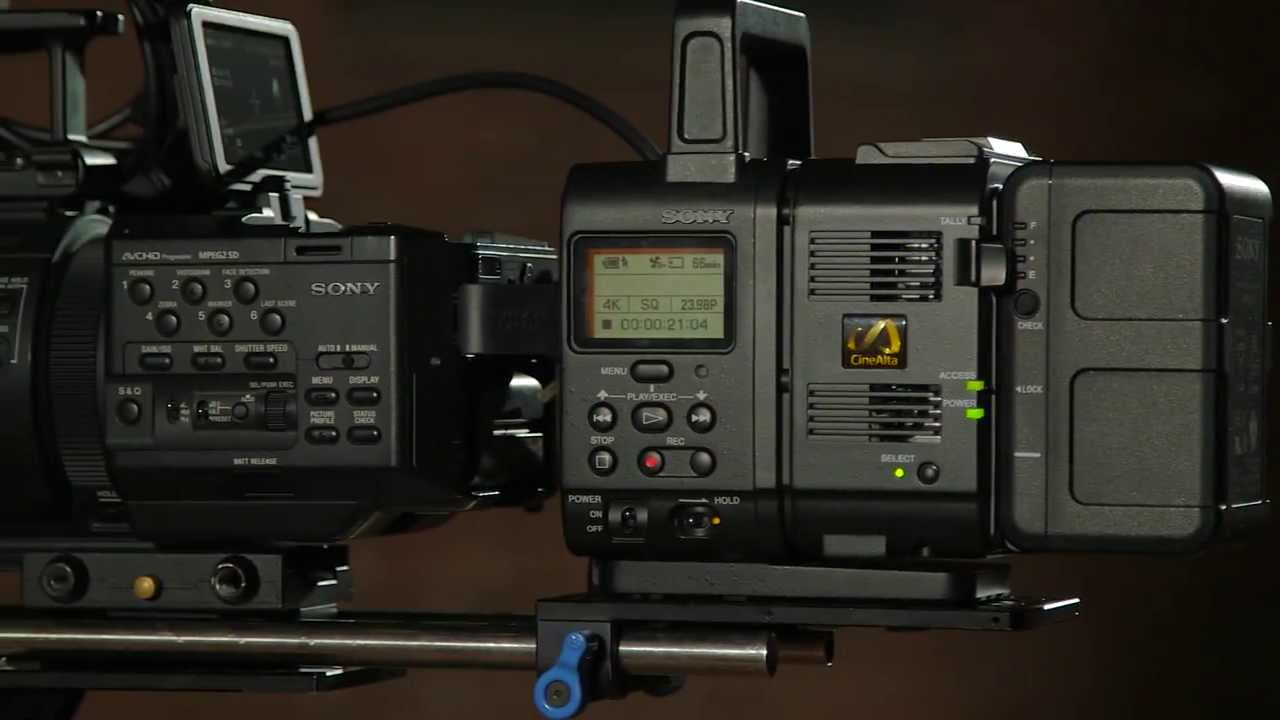 Sony AXS-R5 Recorder Mac