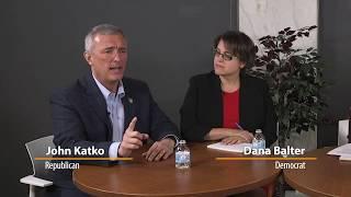 Congressional candidates katko, balter clash over negative advertising at 1st debate
