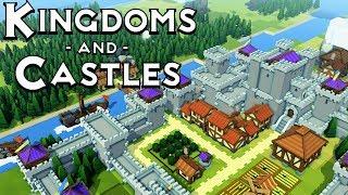Прохождение Kingdoms and Castles: - ПРИЛЕТЕЛ ДРАКОН!
