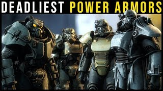 The 5 Deadliest POWER ARMORS in Fallout History | Fallout Lore