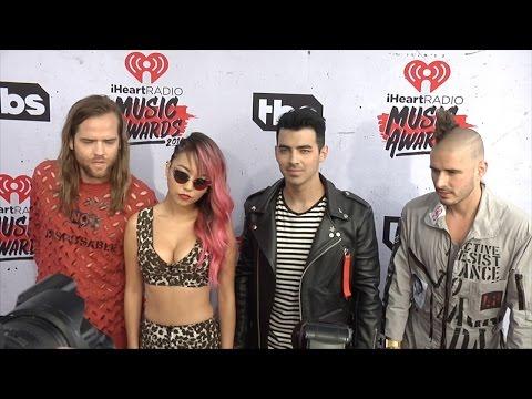 Joe Jonas DNCE 2016 iHeartRadio Music Awards Red Carpet
