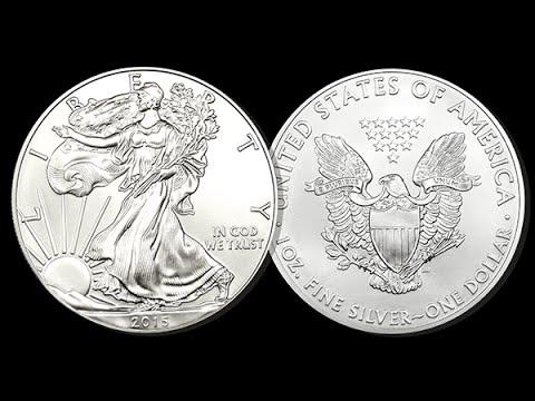 American Eagle Silver Dollars - 1 oz.