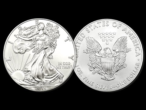 American Eagle Silver Dollars - 1 Oz.