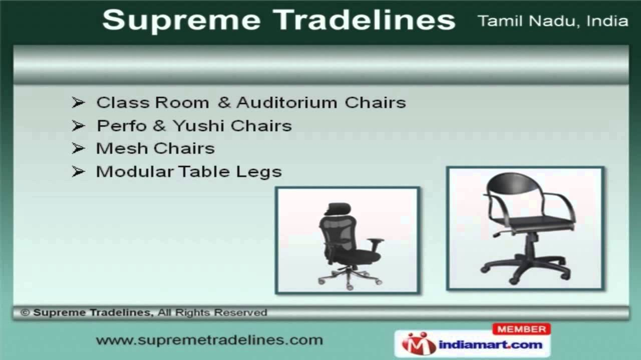 Rolling Chair Accessories In Chennai Slipcovers T Cushion 2 Hardware And Chairs By Supreme Tradelines Youtube