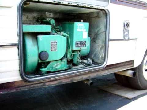 Kw Trailer Wiring Diagram 1987 Onan Generator Cold Start Youtube