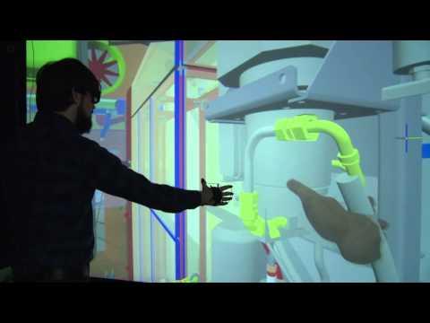 Visionary Render 1.2 Finger Tracking using ART