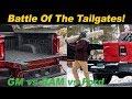 Tailgate Battle! GMC vs RAM vs Ford vs Chevy (and Honda)