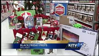 Walmart prepares for Black Friday sales