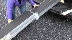 folding wheelchair ramp