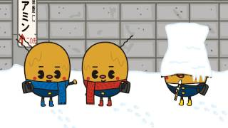 全国納豆協同組合連合会の公式キャラクター「納豆3兄弟」! 季節のお手...
