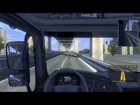 Euro Truck Simulator 2 con mods mapa China Guangzhou Map BETA link en la descripción  pt 2