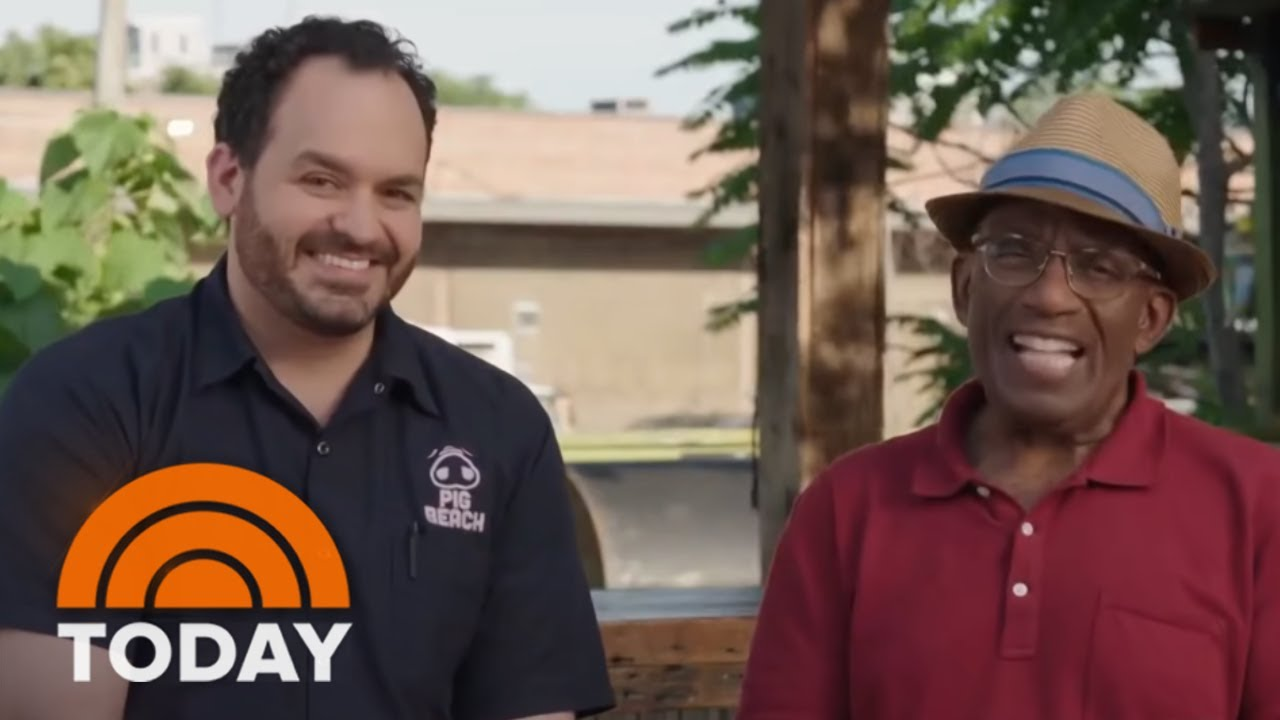 Learn How To Grill Like Al Roker With A TODAY Cooking Class | TODAY