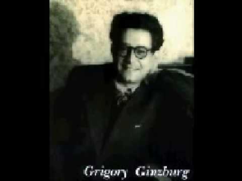 "Richter & Ginzburg play Liszt ""Concerto Pathétique..."