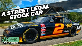 How INSANE is a road legal NASCAR?