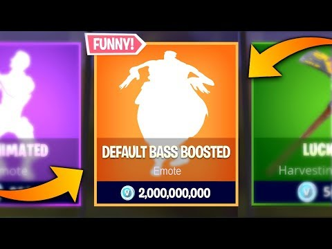 These Emotes Sound Better *BASS BOOSTED*..! (Fortnite Memes)
