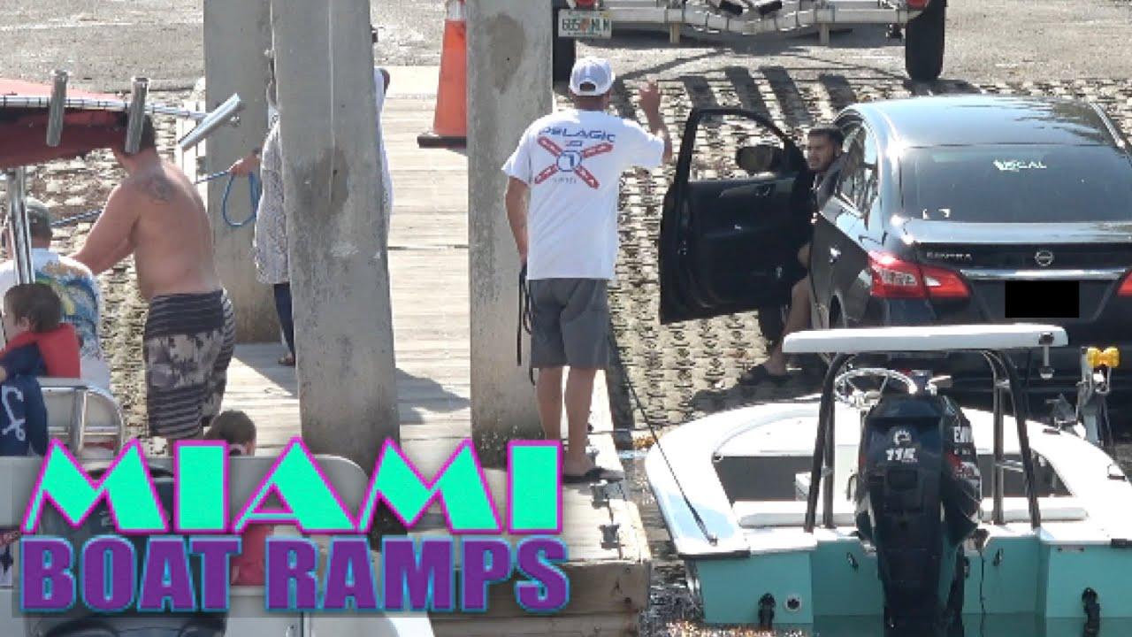 Tempers Flair Again Deja Vu!!  Miami Boat Ramps   Boynton Beach