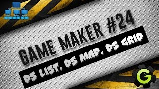 Урок по Game Maker #24 (DS LIST, DS MAP, DS GRID)