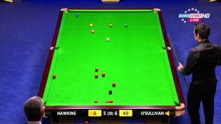 2013.World.Snooker.Championship.Final.Ronnie.O.Sullivan.vs.Barry.Hawkins.Second.Session.ENG